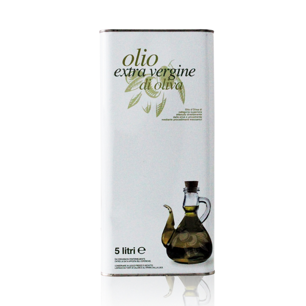 ORGANIC EXTRA VIRGIN OLIVE OIL - 5 L